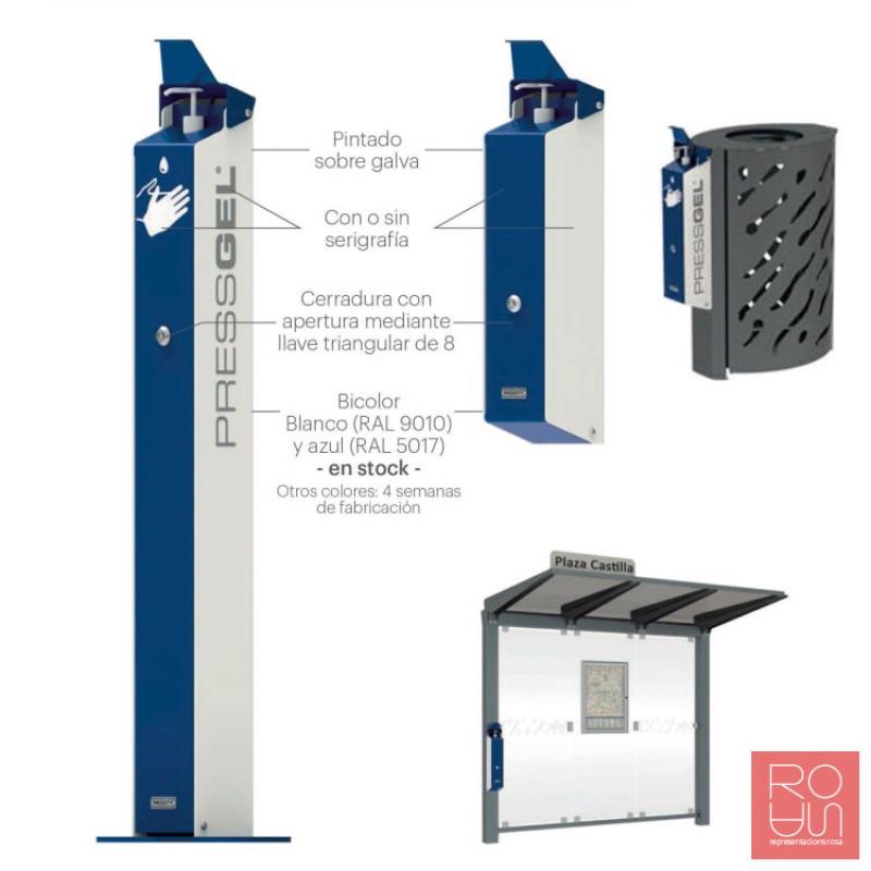 Dispensador de gel manual mod PressGel