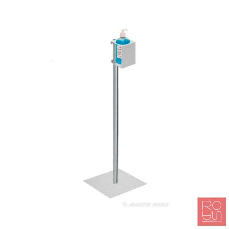 Suport dispensador de gel hidroalcohòlic per a la COVID-19
