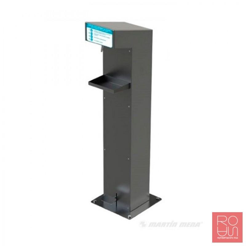 Dispensador d'hidrogel a granel per pedal COVID-19