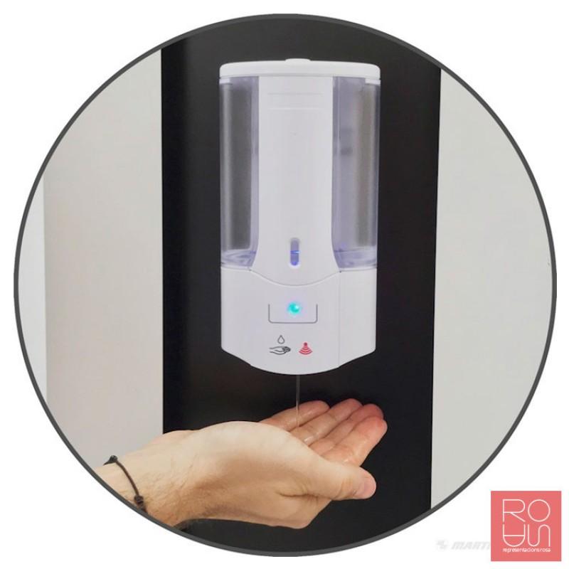 Tòtem dispensador de gel automàtic per a la COVID-19